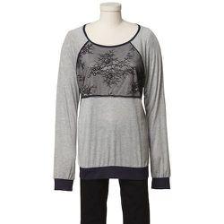 Tibi Quixote Lace Long Sleeve Top, $75
