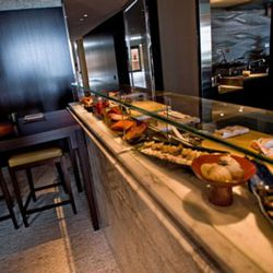 The raw bar will feature a variety of crustaceans