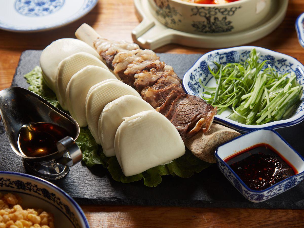 Szechuan Mountain House grilled beef ribs
