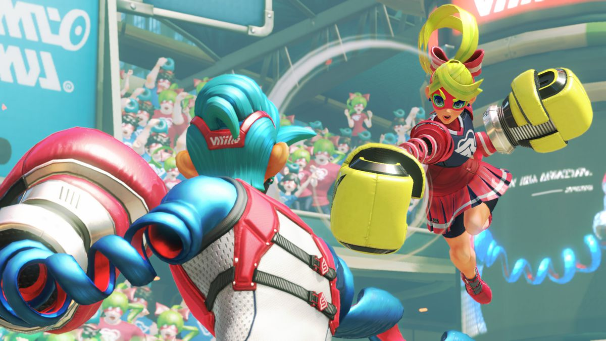 Image result for arms nintendo