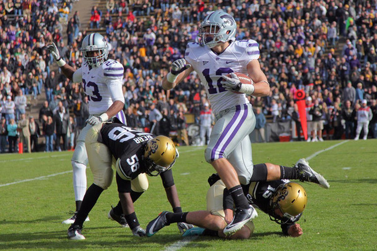 This punt return against Colorado merely was one of the unexpected highlights in Ty Zimmerman's true freshman season. I'm predicting even bigger things for the true junior and team captain this year.