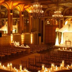 """A ceremony in the Terrace Room via the <a href=""""http://www.theplaza.com/events/weddings/"""" rel=""""nofollow"""">Plaza</a>"""