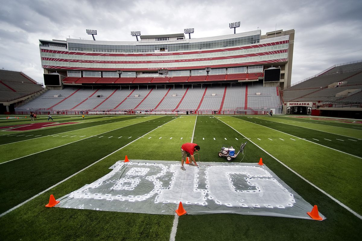The Big Ten will eliminate nonconference football games this season.