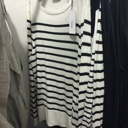 Men's stripe sweater, $85 (was $275)