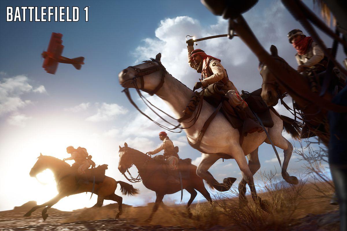 Battlefield 1 - cavalry screenshot 1920