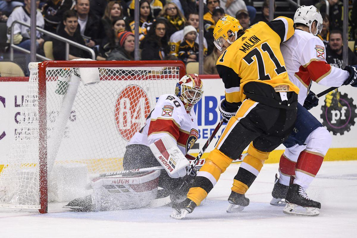 NHL: JAN 05 Panthers at Penguins