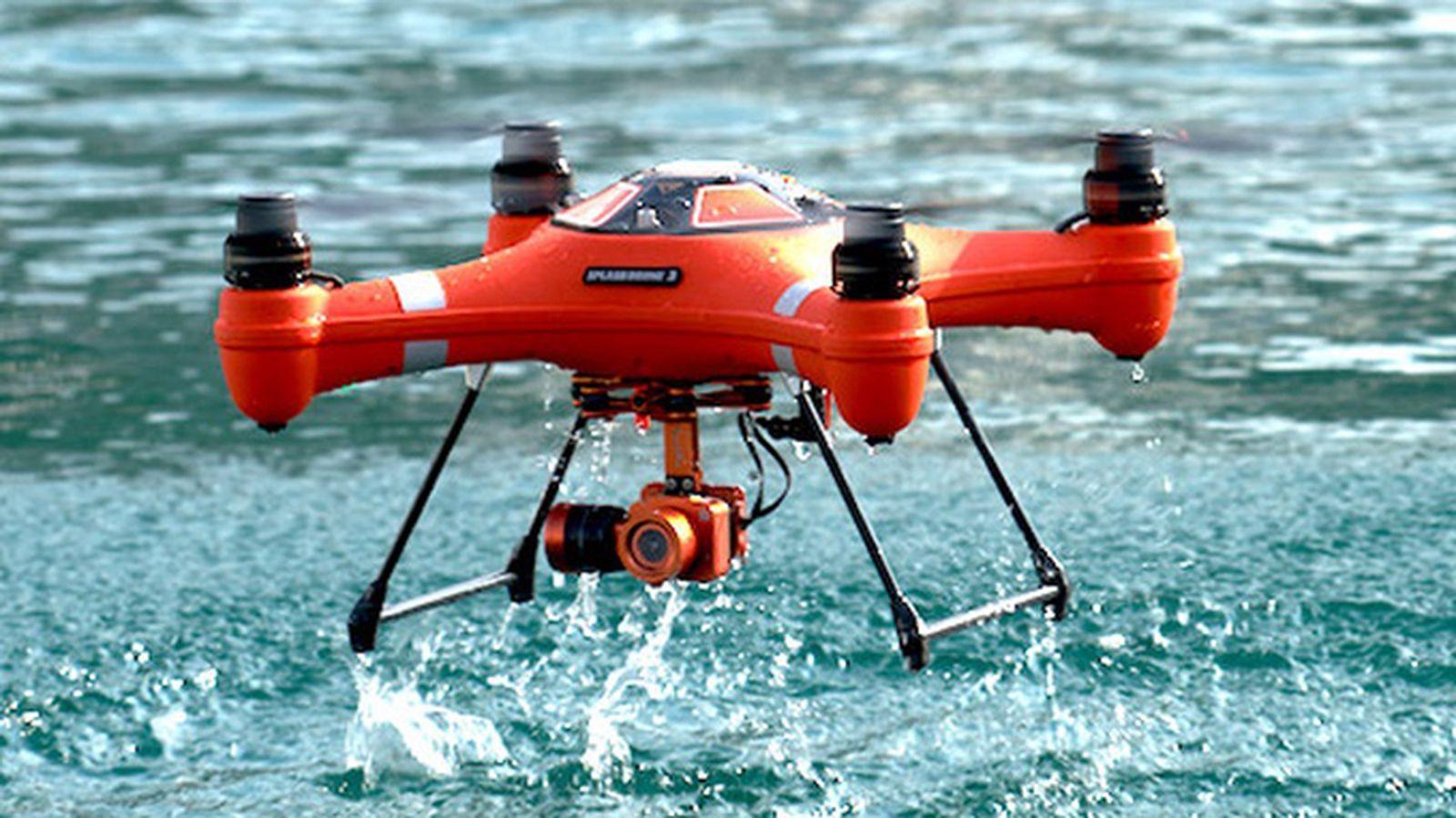 The Splash Drone 3 is the Aquaman of drones