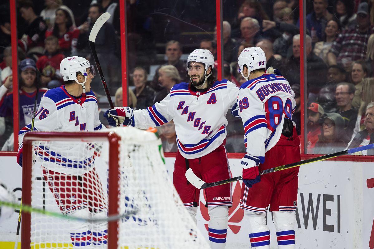NHL: OCT 05 Rangers at Senators