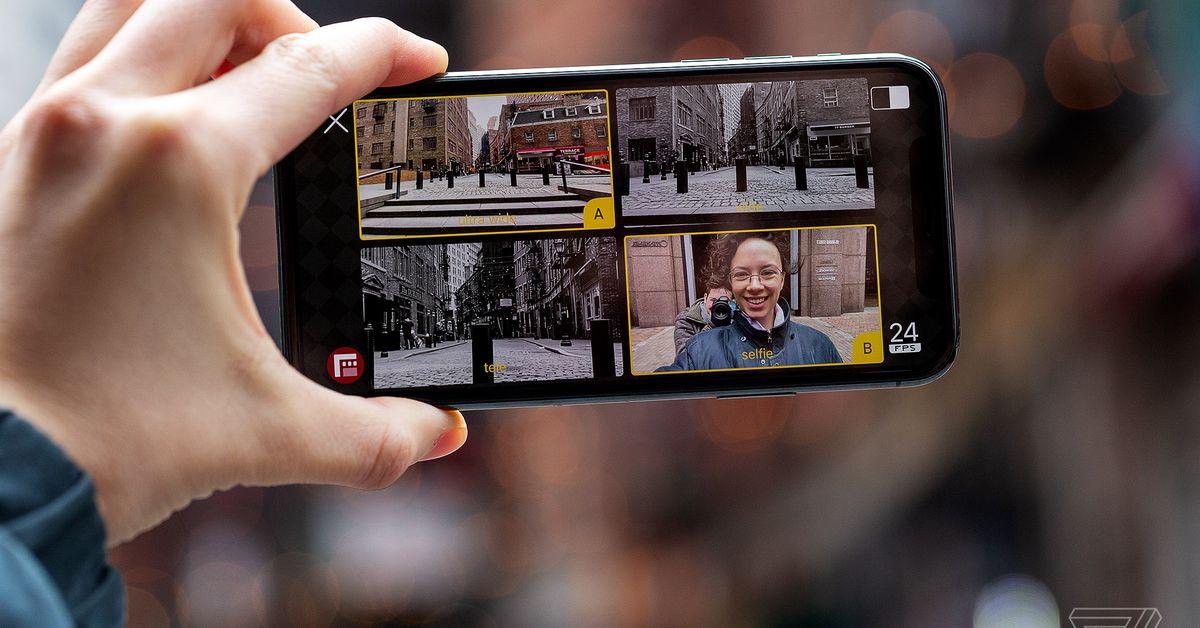 O Filmic DoubleTake permite gravar a partir de duas câmeras do iPhone ao mesmo tempo 1