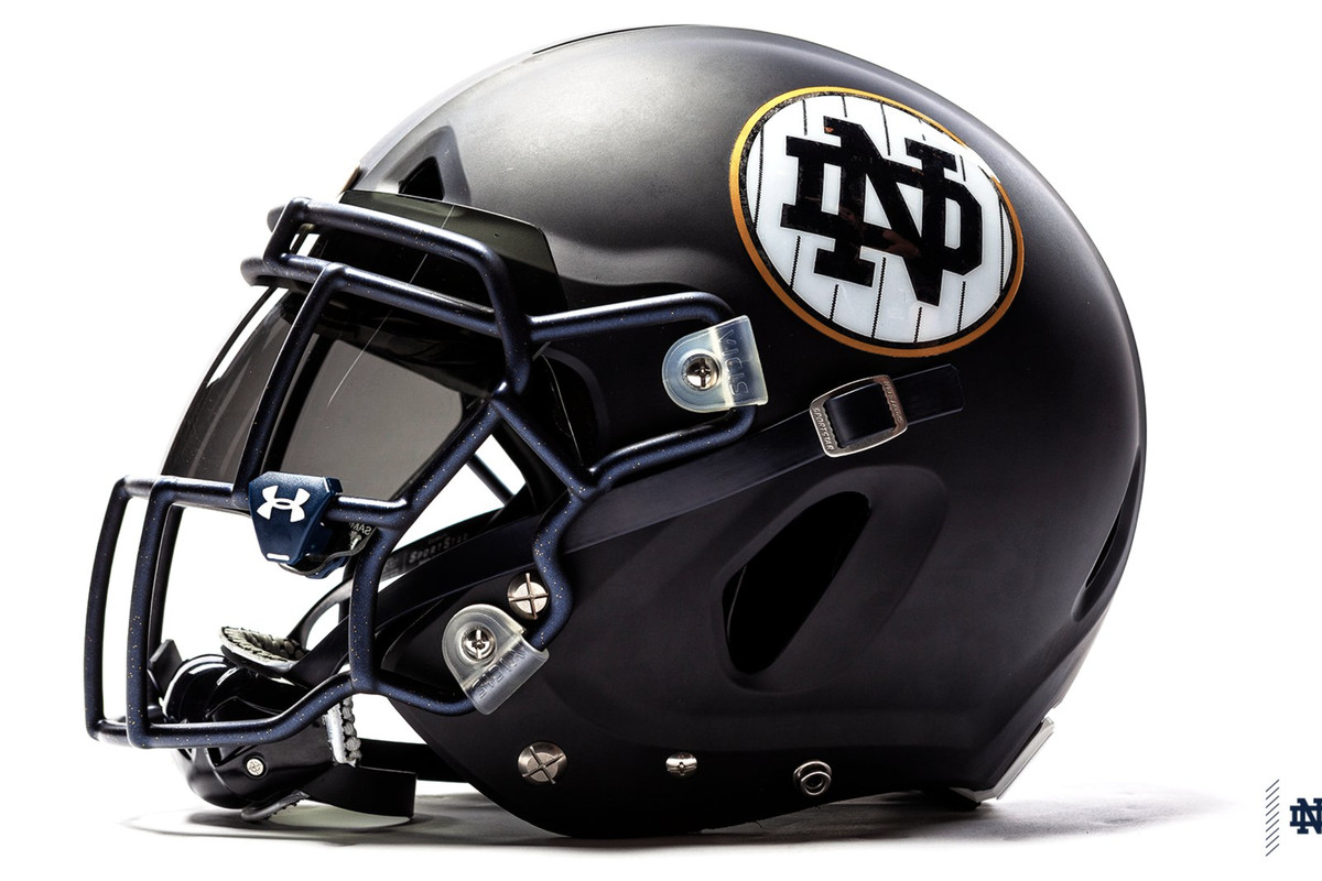 Notre Dame Football  The Shamrock Series Uniforms Are Awful - One ... 80c0079ee