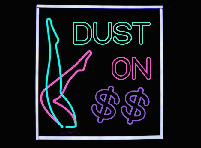 dust on