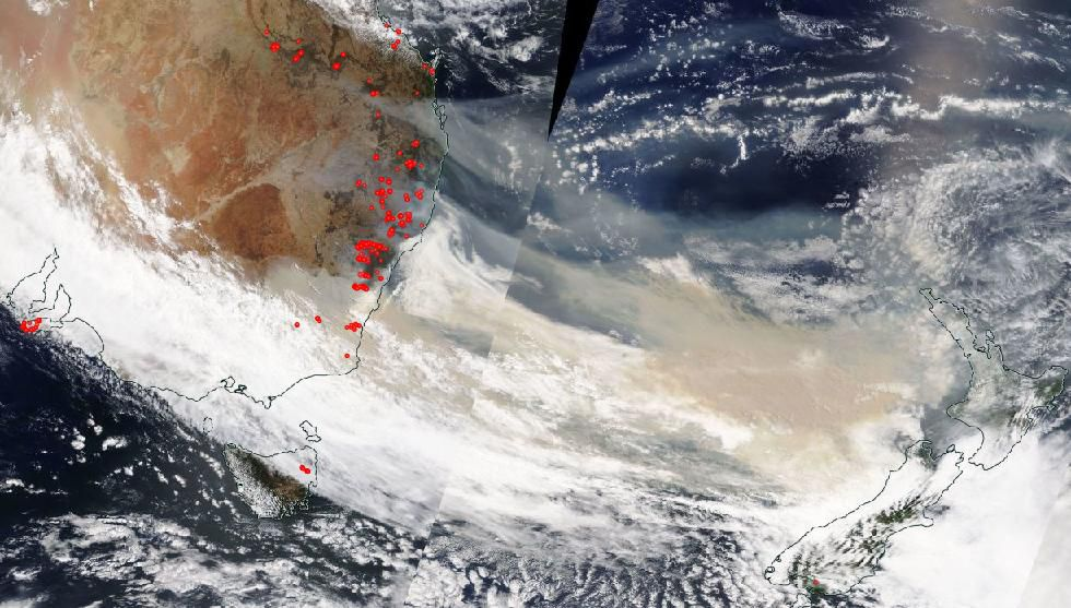 Australia fires 2019 map: where they're currently burning ...