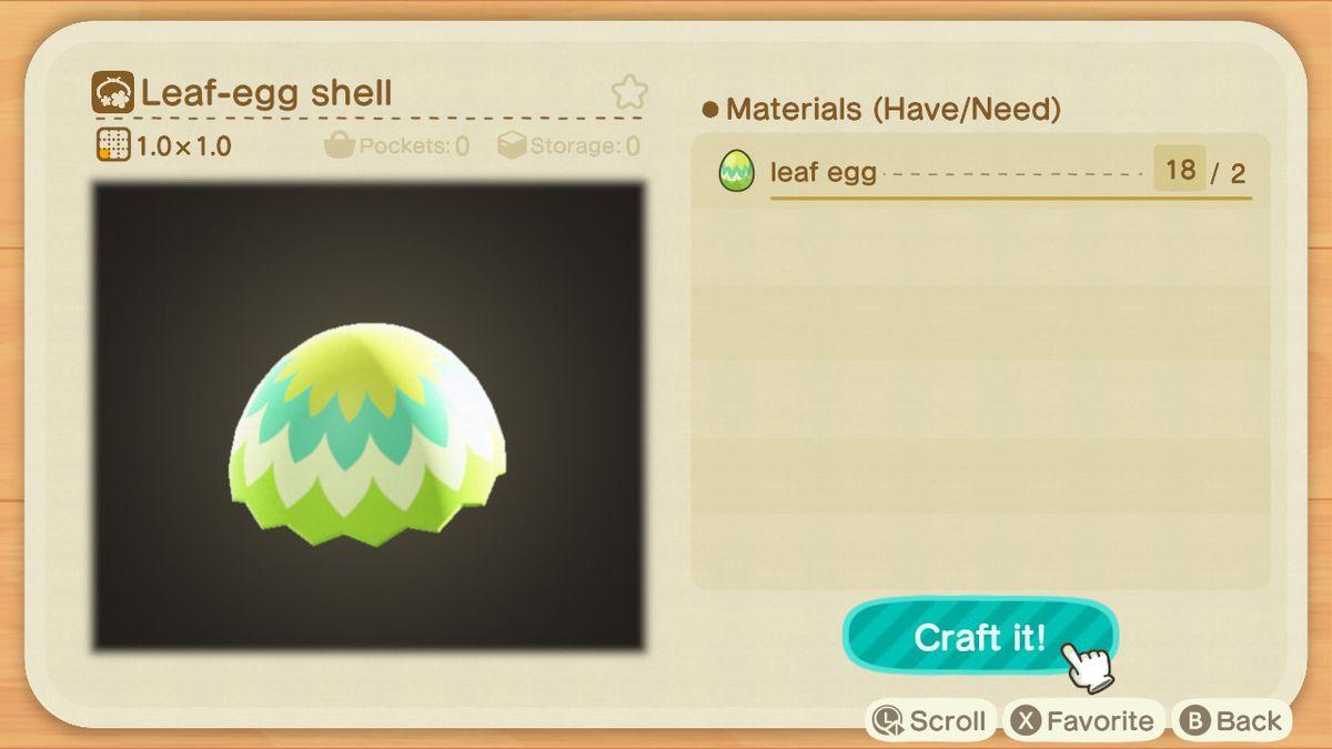 EUixeBrUEAAG8hF - Animal Crossing: New Horizons - Progetti caccia all'uovo