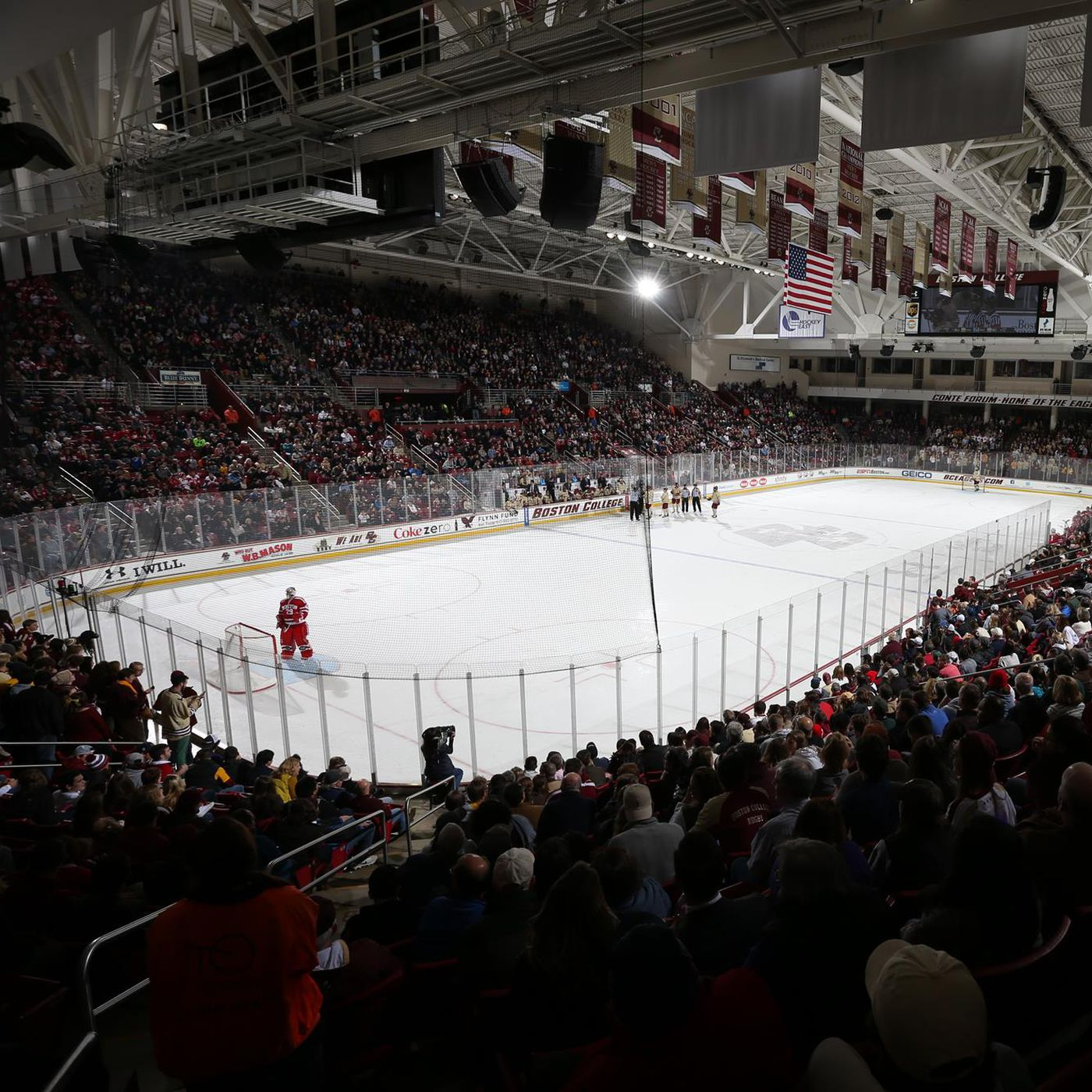 Make Conte Forum Great Again Improving the Fan Experience BC Interruption