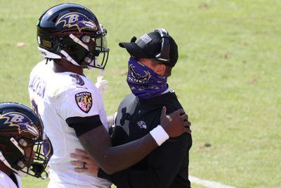 NFL: Baltimore Ravens at Washington Football Team