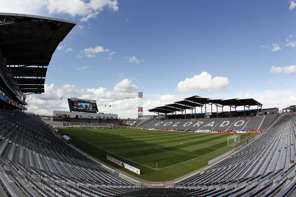 From the South Stands at Dick's Sporting Goods Park.  Is it March 21, 2015 yet?