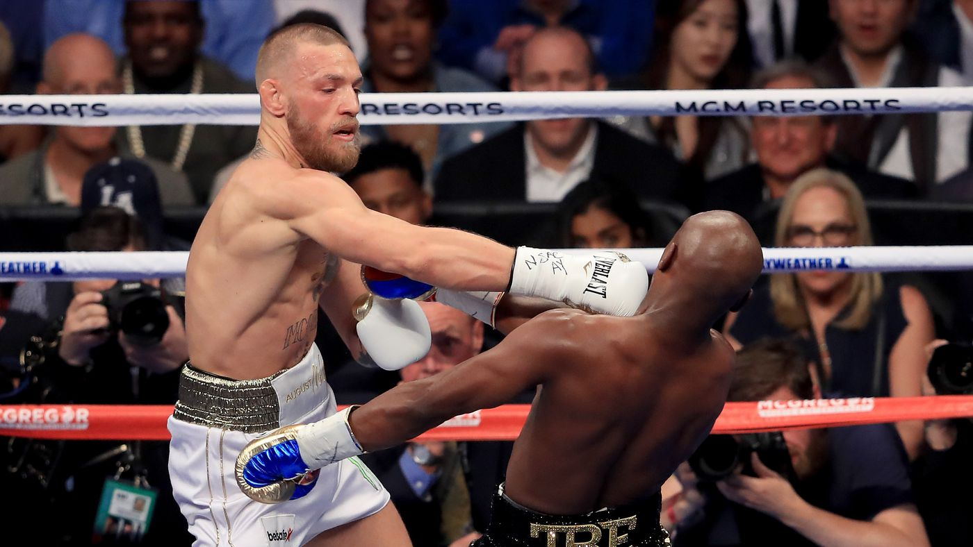 Conor McGregor lobbies for Floyd Mayweather rematch: 'I'll send his head into the bleachers'