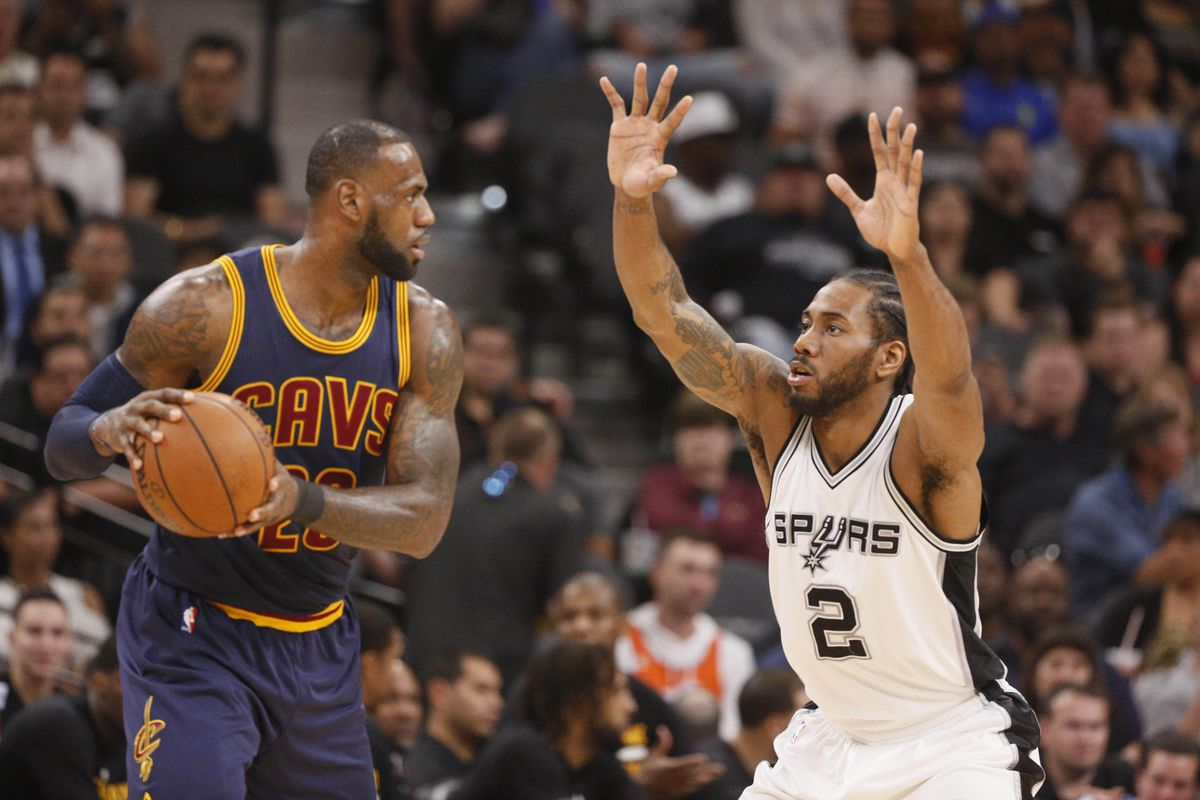 newest 01056 33705 The Spurs are LeBron's Kryptonite - Pounding The Rock
