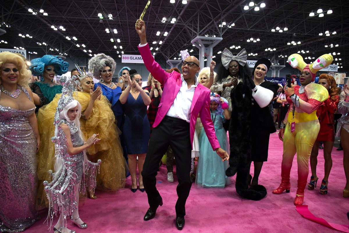 ea00e603 RuPaul at New York City's DragCon in 2018. Santiago Felipe/Getty Images ...