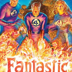 Illustrated by Alex Ross.