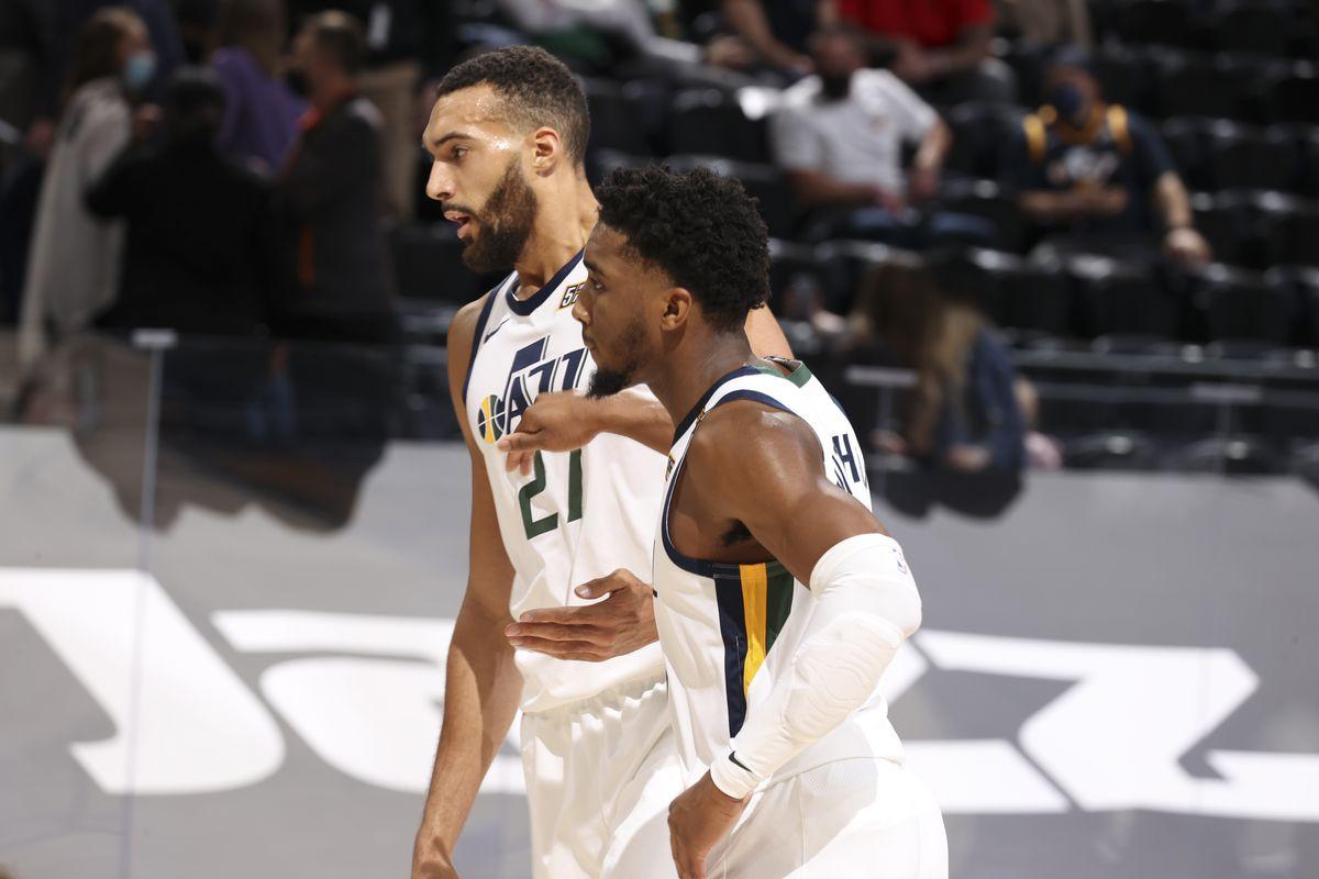 Boston Celtics v Utah Jazz