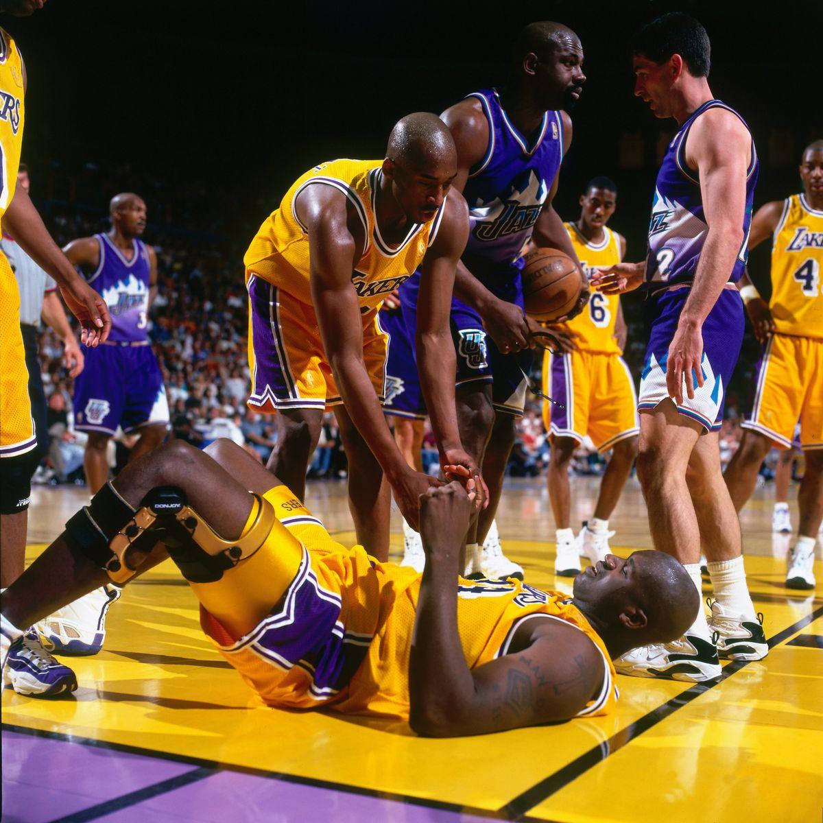 1997 Western Conference Semifinals, Game 4: Utah Jazz vs. Los Angeles Lakers