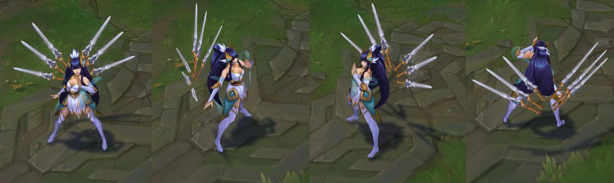 Enduring Sword Talon and Divine Sword Irelia are the latest