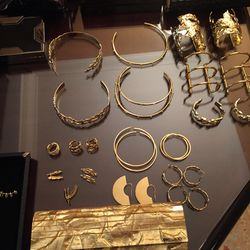 After party options! All jewelry by Jennifer Fisher.