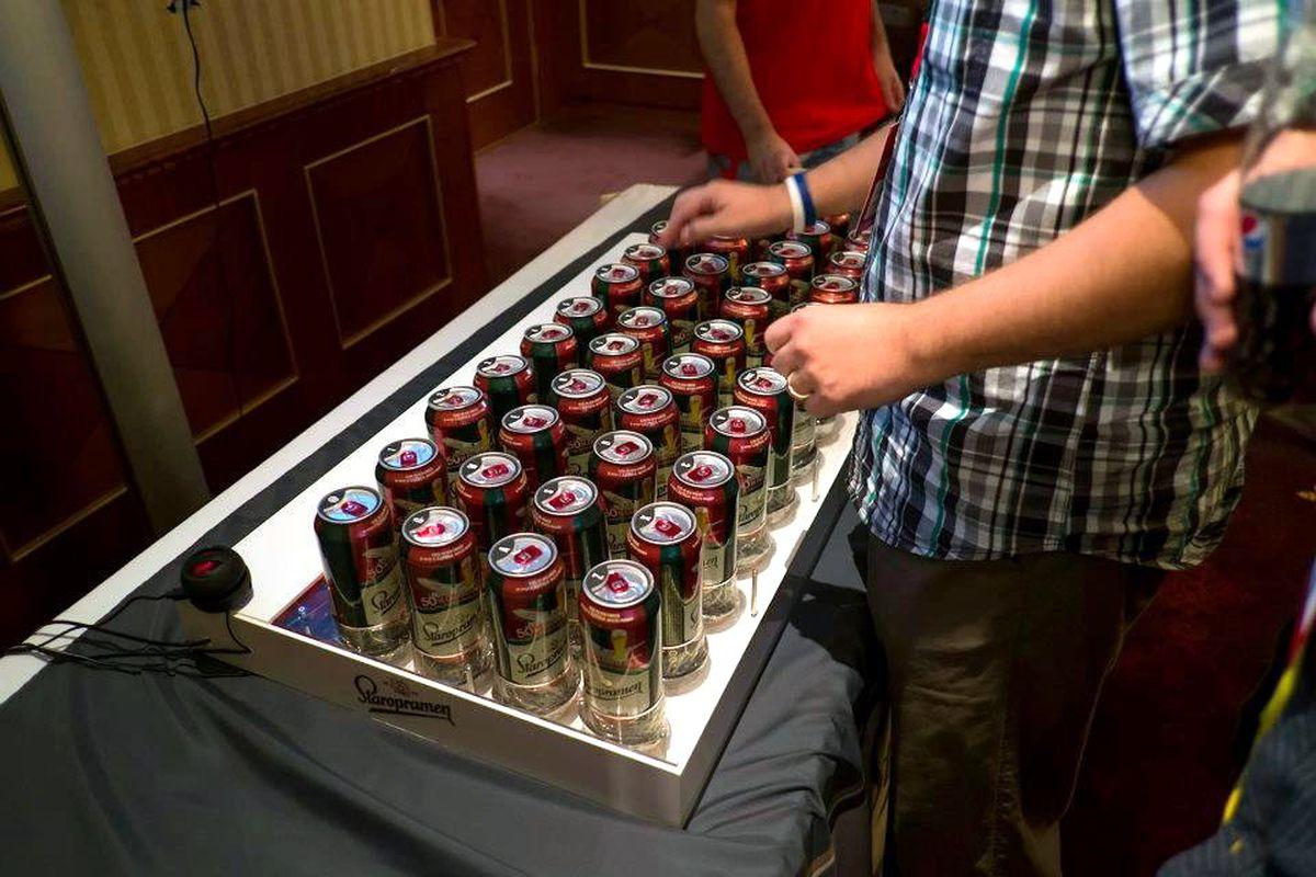 beer keyboard