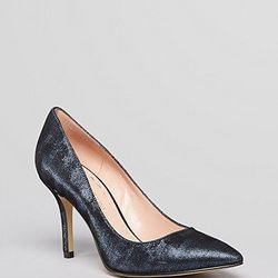"""<a href=""""http://www1.bloomingdales.com/shop/product/enzo-angiolini-pointed-toe-pumps-callme-high-heel"""">Enzo Angiolini pointed toe pumps</a>, $52.80 (were $110)"""
