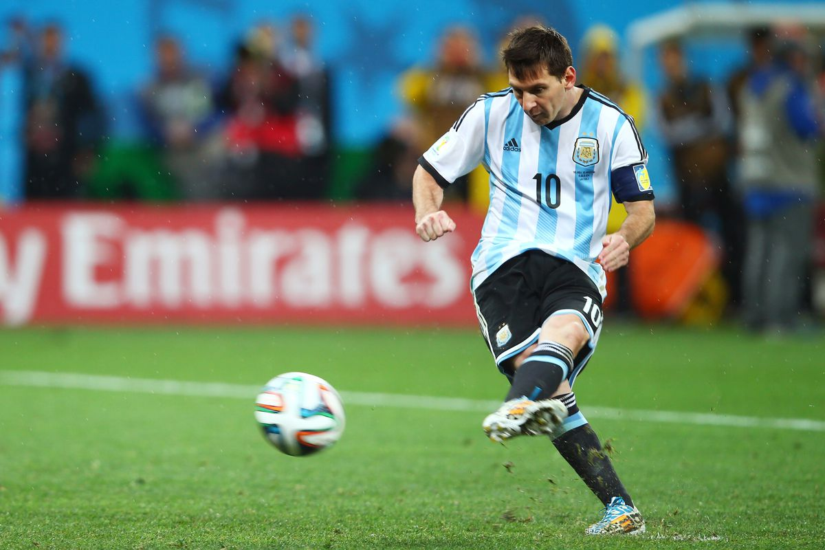 Fifa World Cup Final Argentina Vs Germany The Evolution Of Lionel Messi Barca Blaugranes