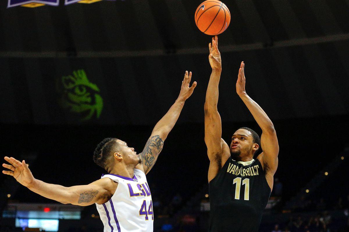 NCAA Basketball: Vanderbilt at Louisiana State
