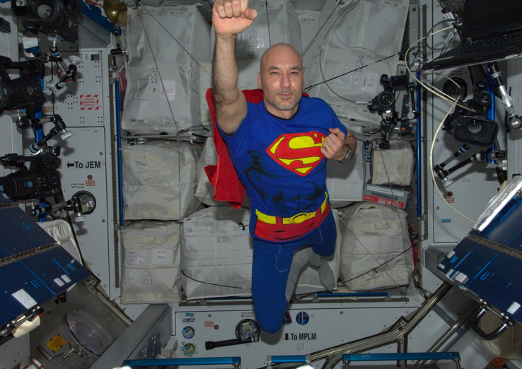 space station superman