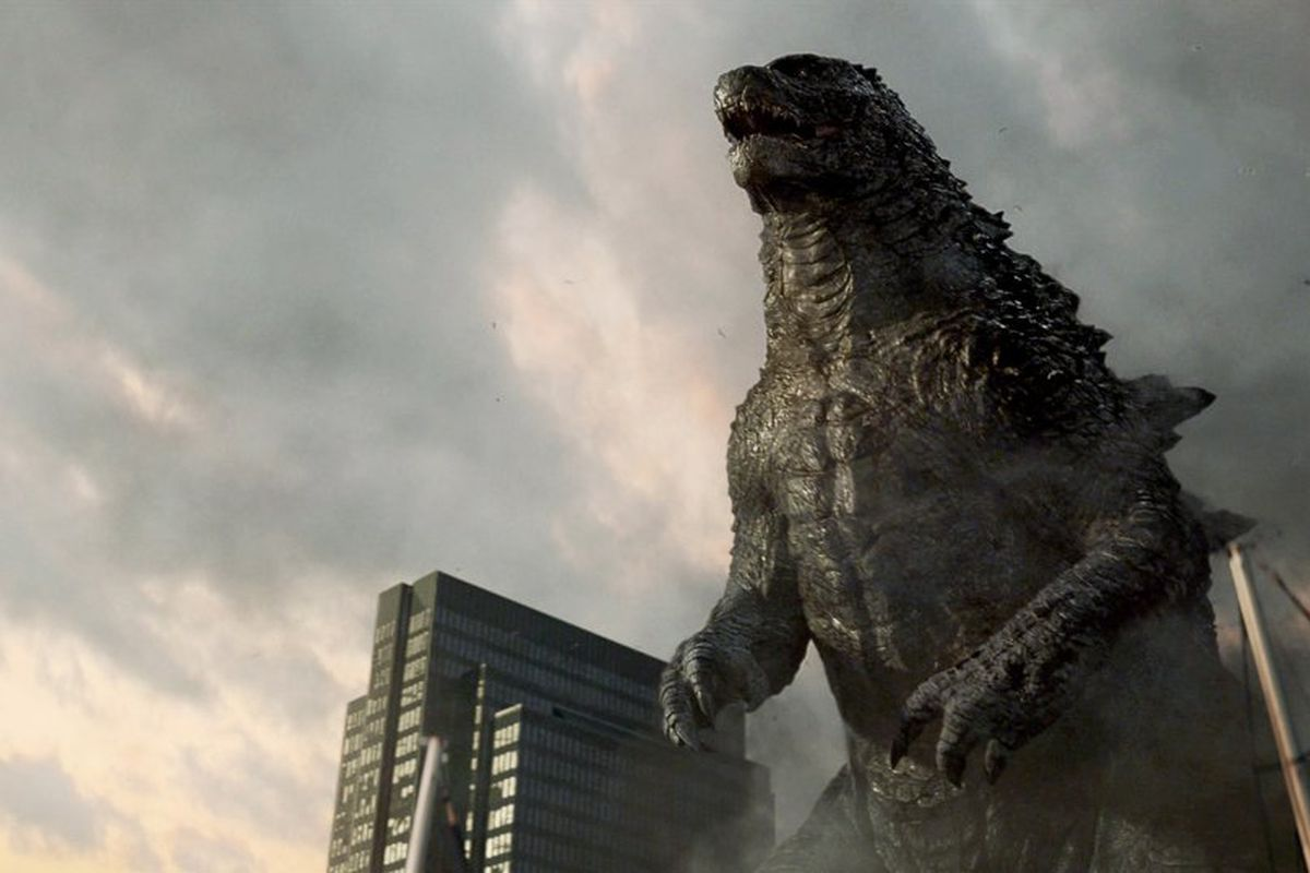 godzilla prepares to fight mysterious flying monster in this new