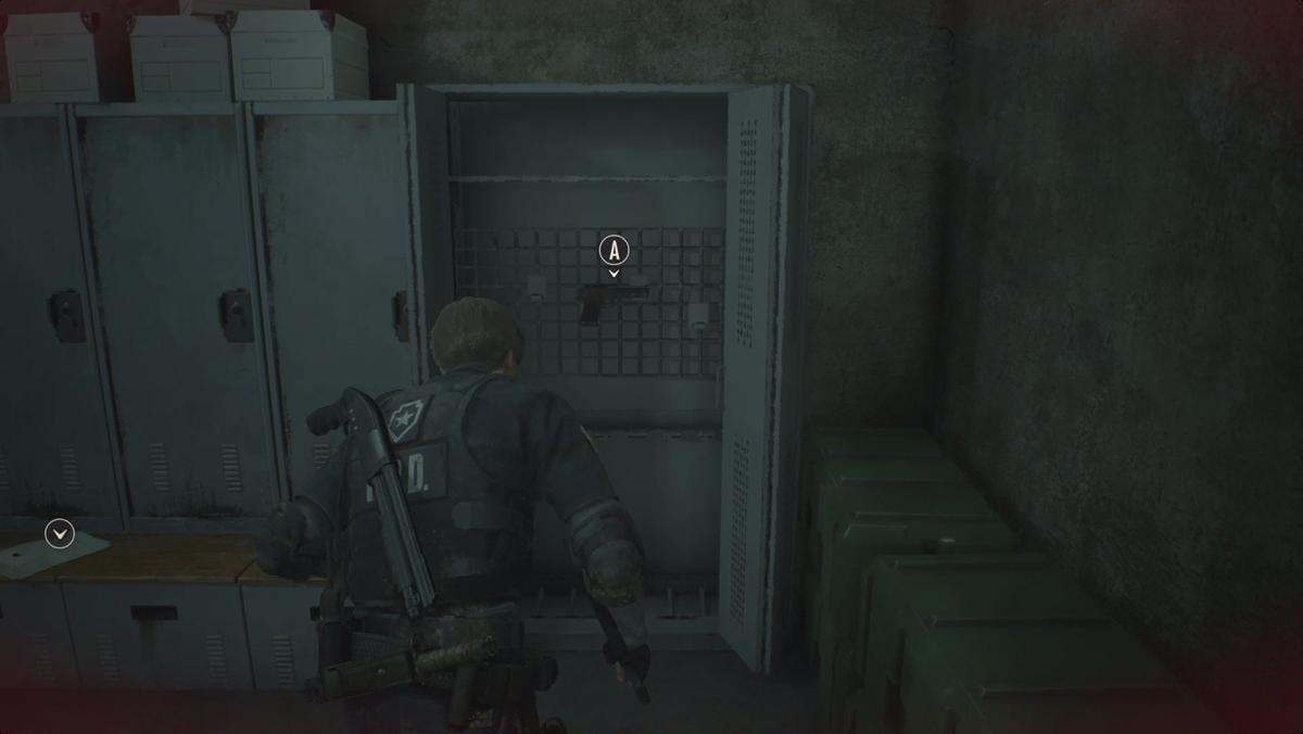 Resident Evil 2 Lightning Hawk handgun