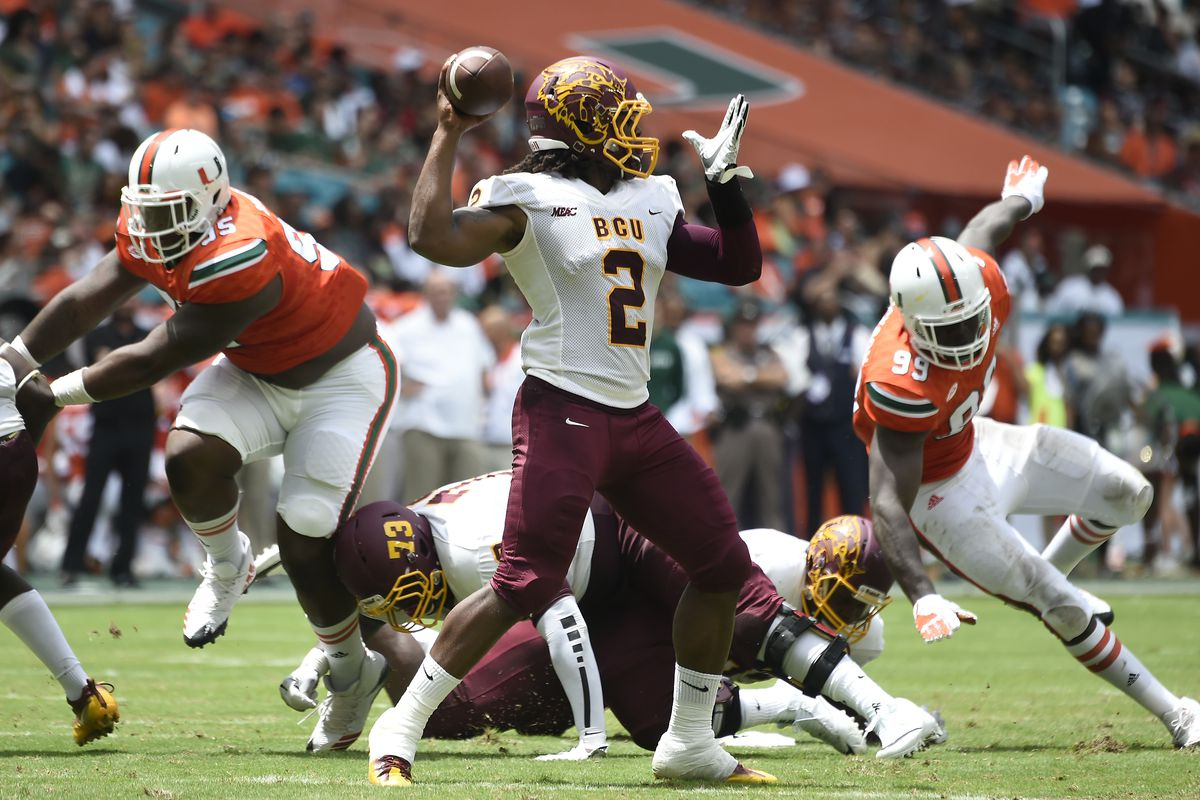 Miami Hurricanes Matchup Preview: Bethune-Cookman Wildcat