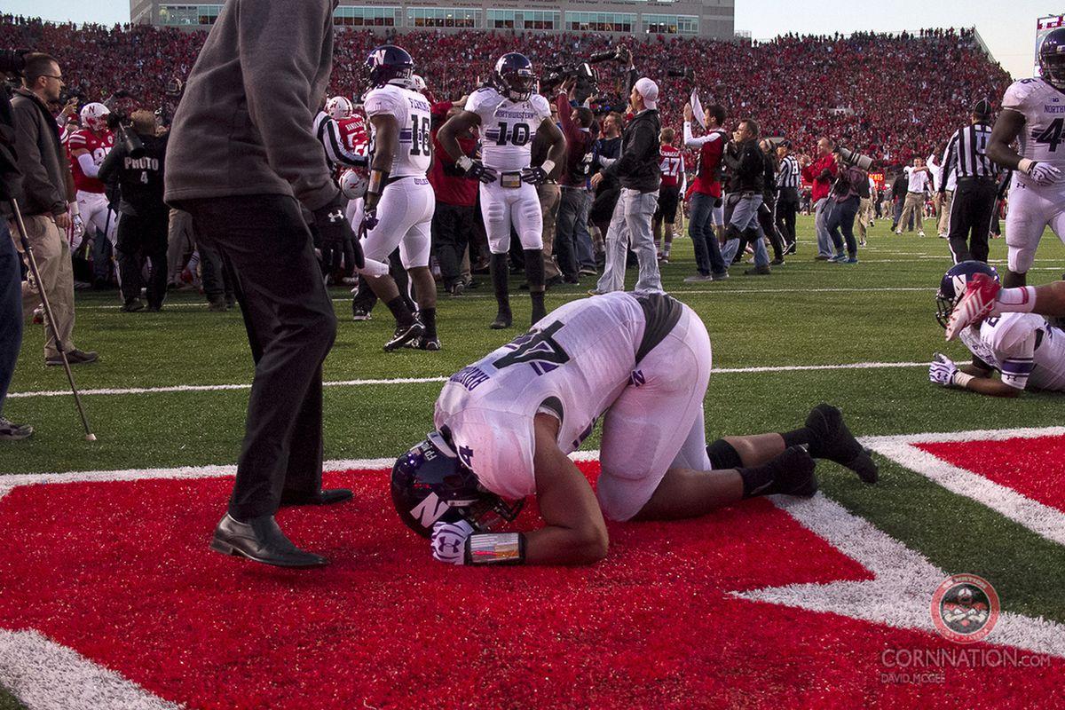 Gallery Photo: Nebraska vs. Northwestern 2013 Gallery