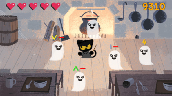 Google Is Celebrating Halloween With An Adorable Ghastly