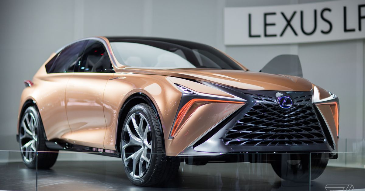 the lexus lf 1 limitless concept is a futuristic rose gold stunner the verge. Black Bedroom Furniture Sets. Home Design Ideas
