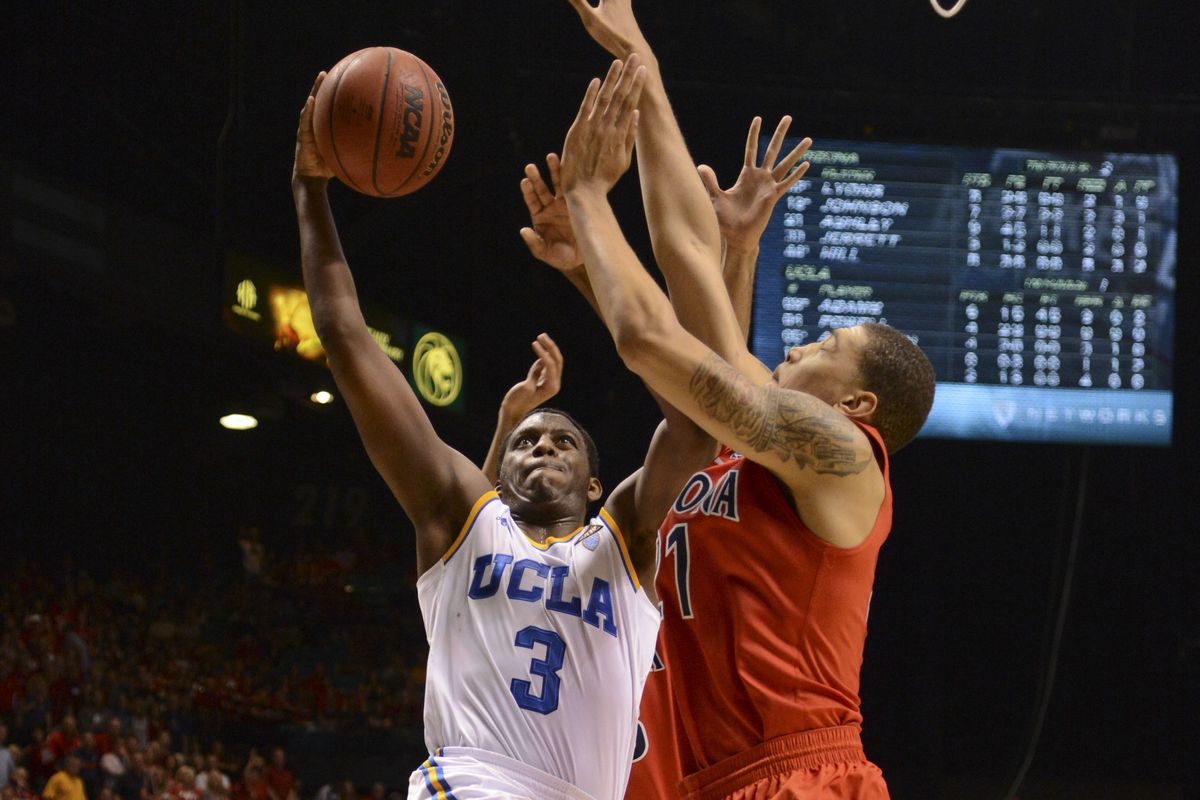 The scouts said Jordan Adams was strictly an outside shooter.
