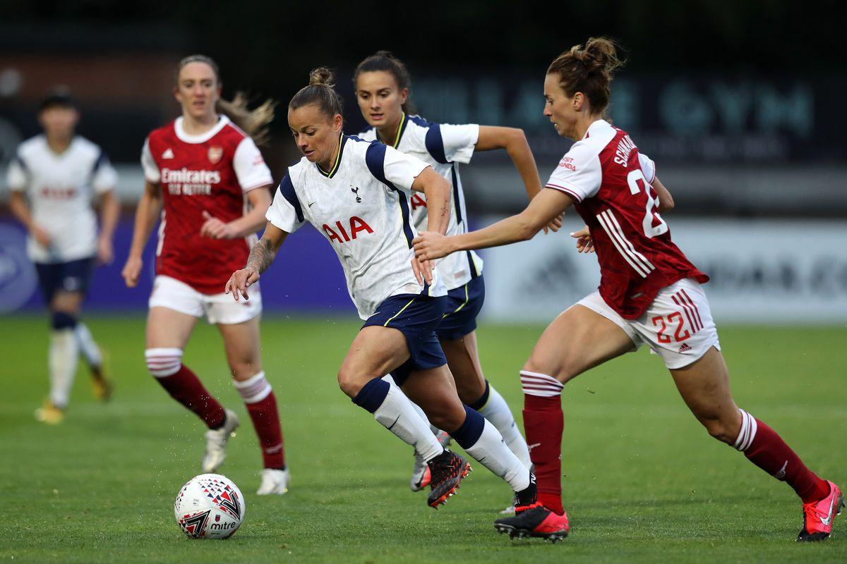 Arsenal FC v Tottenham Hotspur FC - SSE Women's FA Cup: Quarter Final