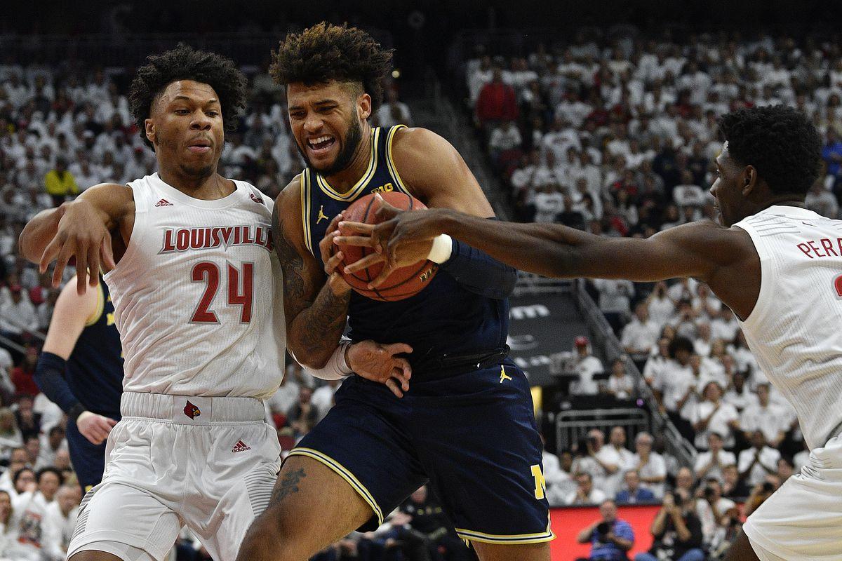 NCAA Basketball: Michigan at Louisville