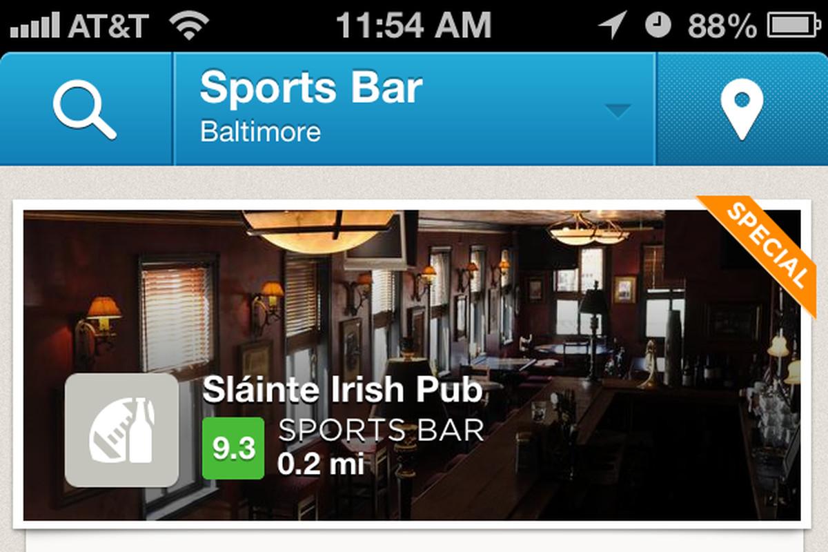 Baltimore Sports Bars