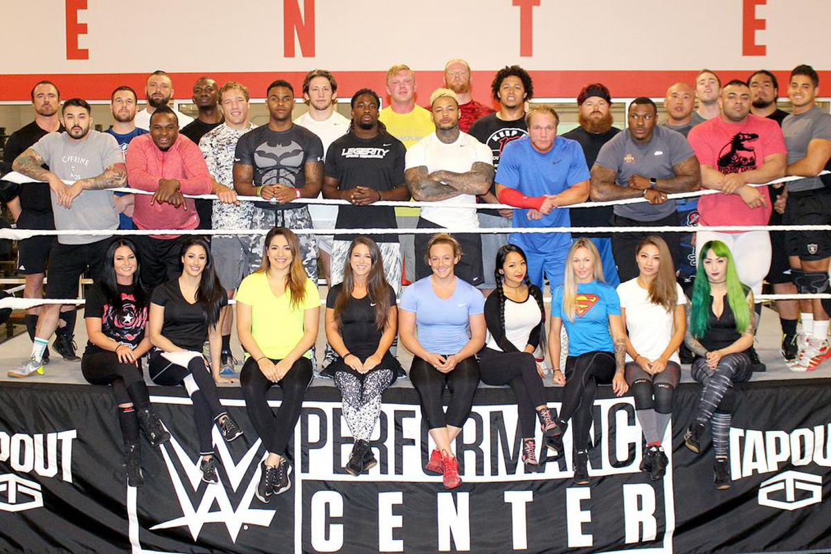 Ever wanted to know what a WWE tryout looks like? Wonder no