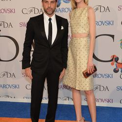 Alexandre Birman and Daria Strokous