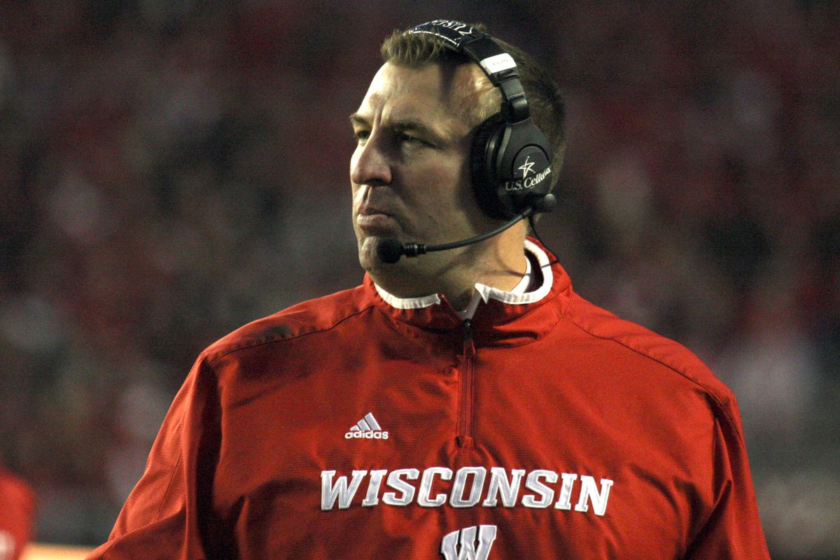 Brett Bielema can keep the same colors in his closet as he moves from Wisconsin to Arkansas