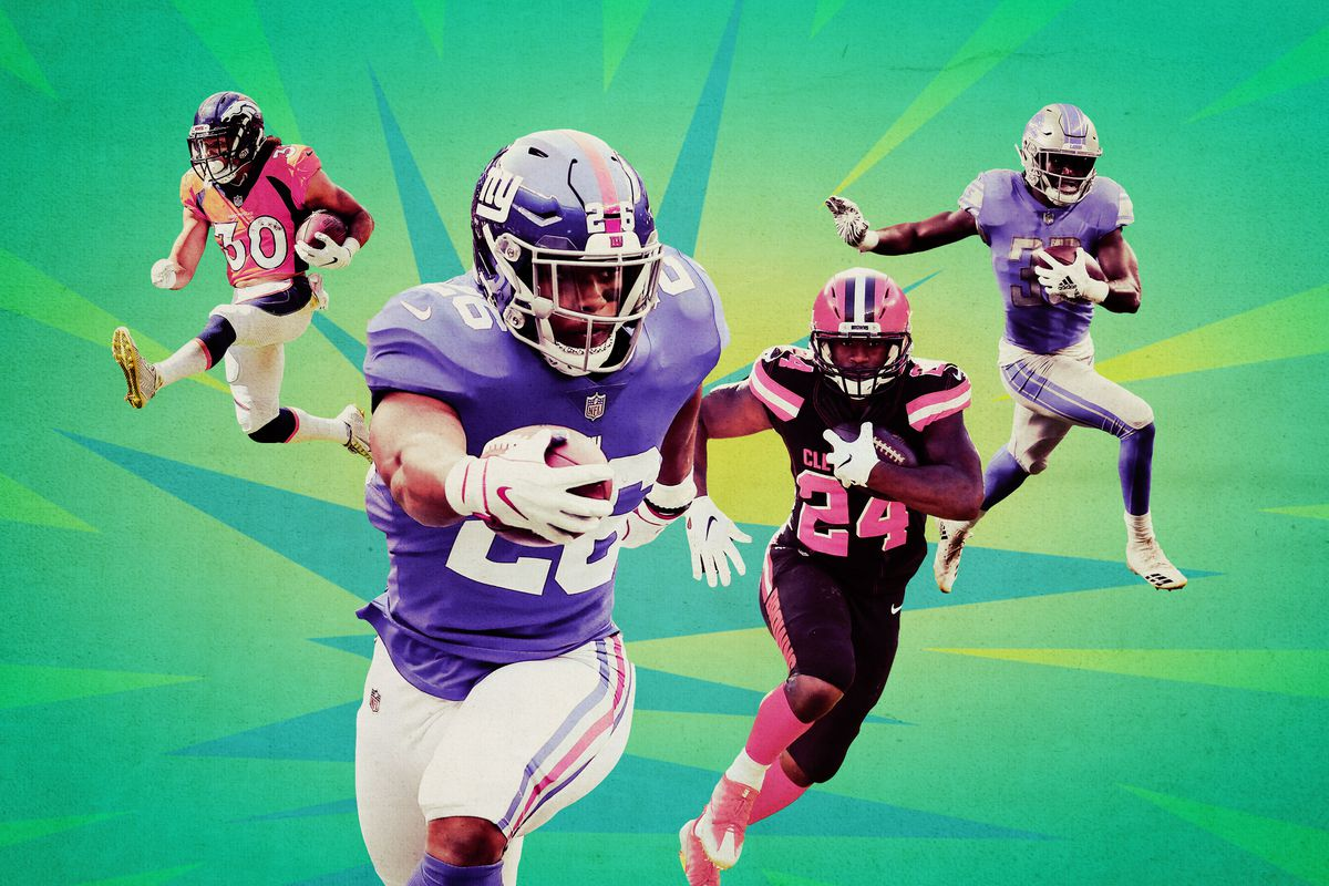 Getty Images Ringer illustration. The vaunted 2018 running back draft ... caa37958a