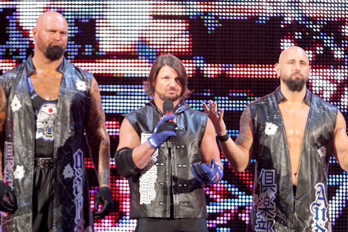 aj styles hints the club could reform to battle the shield