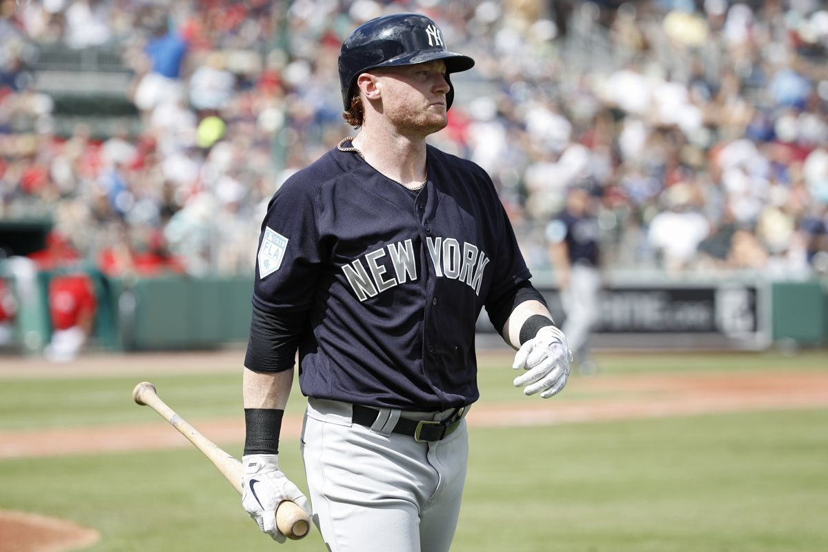Yankees cut Clint Frazier, four others from spring training roster