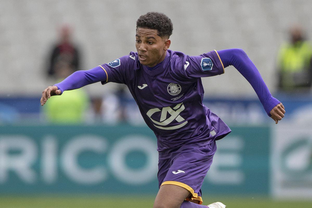 Toulouse FC U19's V Saint-Etienne U19's. Gambardella Cup final